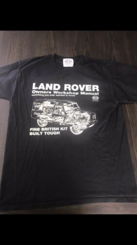 Range Rover Land Rover Defender T-Shirt Size Large