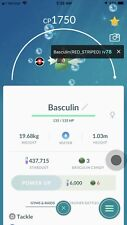 Pokemon Go Trade Basculin (Red Striped) Regional- Teleport To You