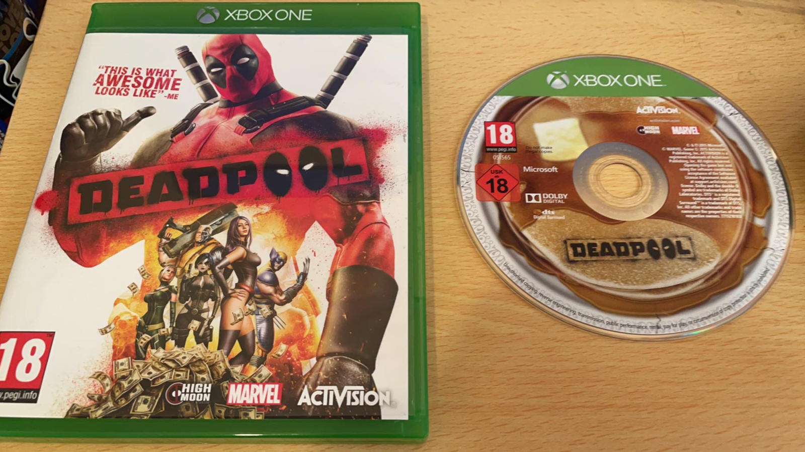 Deadpool ~ Xbox One (Immaculate Condition)