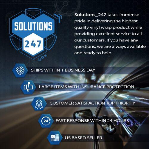Decal Overlays TRD PRO Emblems For 2015-2019 Toyota 4Runner Gloss Carbon Fiber