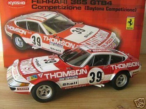 1 18 Kyosho - Ferrari 365 GTB4 Competizione Daytona  39 THOMPSON  | Modisch