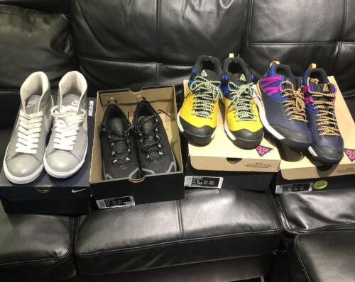 Nike Shoe Lot Nike ACG Nike Blazer Nike SB Lot Of