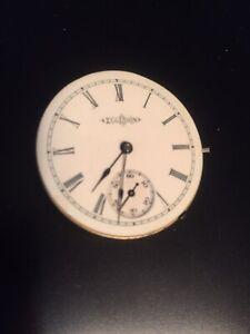 Vintage (1887) Elgin Pocket/pendant Watch Movement. 7j, Sz6,lever Set Grade 140