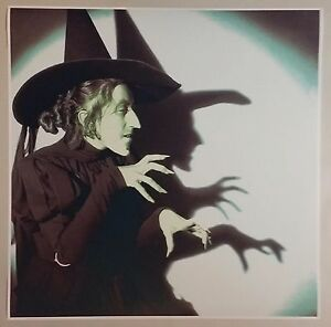 """The Wizard Of Oz 24/"""" x 24/"""" Green Wicked Witch West Movie Poster Ruby Slippers"""