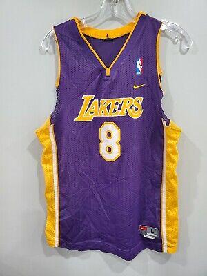 Rare VTG Nike Los Angeles Lakers Kobe Bryant 8 Swingman Jersey Womens Cut L Sewn | eBay