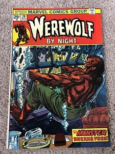 WEREWOLF-by-NIGHT-20-1972-Higher-Grade-Bronze-Age-Ploog-Classic