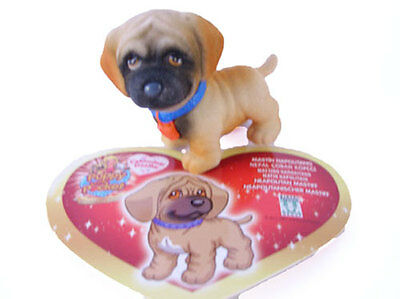 his card-figurine puppy in my pocket Ciro or nina the abasourdi mastiff