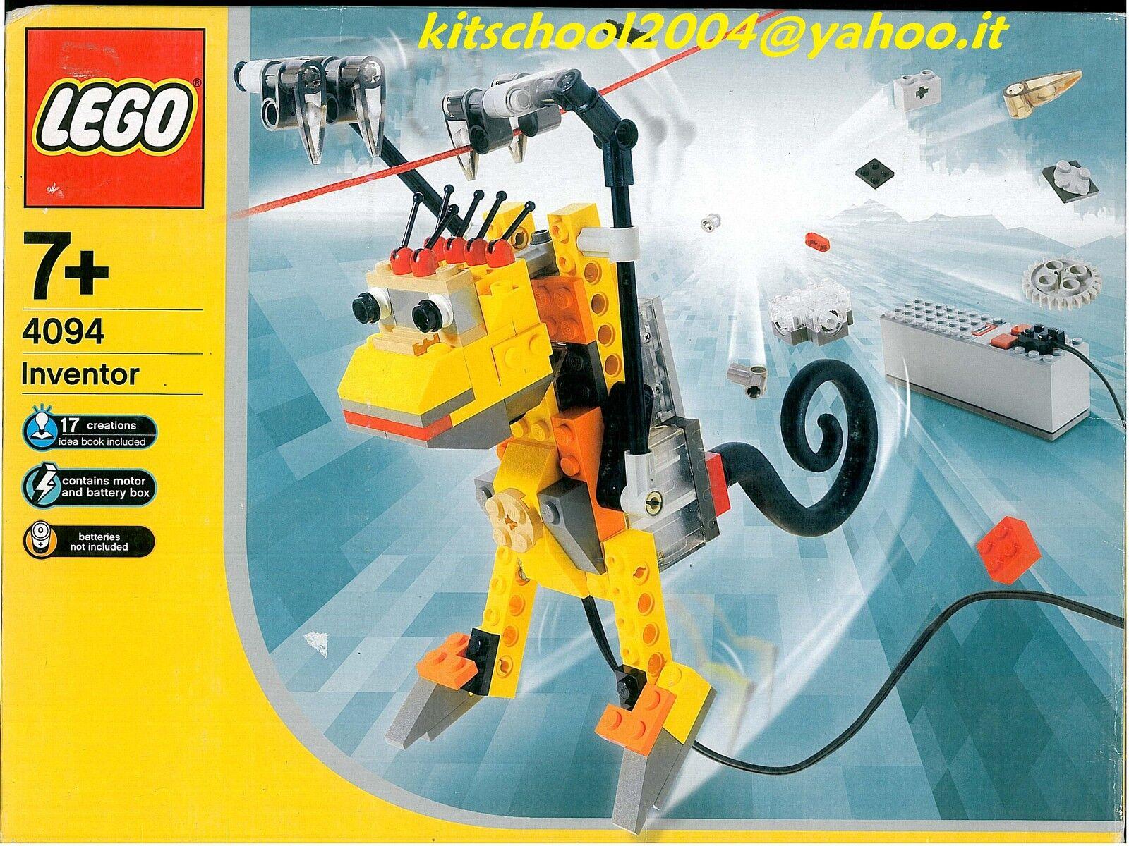 LEGO ROBO SCIMMIA 4094 INVENTOR   NUOVO  SIGILLATO RARO