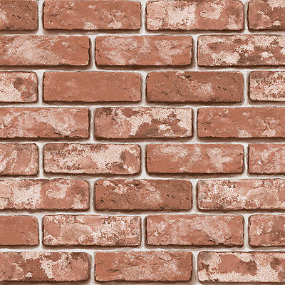 Bakery Brick Pattern Vinyl Self Adhesive Wallpaper PVC Peel Stick Contact Paper