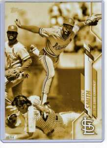 Ozzie-Smith-2020-Topps-Short-Print-Variations-5x7-Gold-55-10-Cardinals