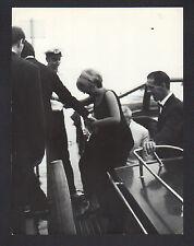 FOTO ORIGINALE MINA AUGUSTO MARTELLI 1965 (?) VENEZIA CARTA LUCIDA TIMBRO RETRO