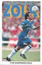 1997 Gianfranco Zola CHELSEA FC Original Starline Poster OOP
