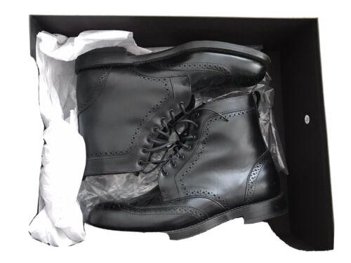 Allen Edmond Dalton Wingtip Boots 9 D Black