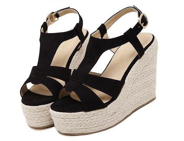 Schuhe hausschuhe 11.5 holzschuhe holzschuhe holzschuhe Sandale absatz keilabsätze 11.5 ... 840d51