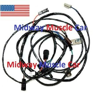Details about transmission contolled spark switch wiring harness V8 on