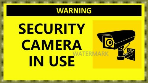CUSTOM REGULATION SECURITY SAFETY SIGNS AUTHORIZED FOR WORK HOME BUSINESS PHOTO