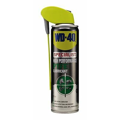 WD-40 44451 Specialist High Performance PTFE Lubricant 250ml Smart Straw Garage