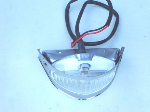 51 52 1951 1952 FORD  TRUCK PARK LIGHT ASSEMBLY  STAINLESS  NEW