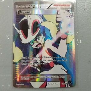 x1-Korrina-111-111-XY-Furious-Fists-Holo-BRAND-NEW