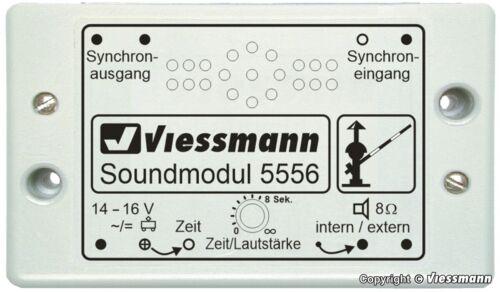 SH Viessmann 5556 Soundmodul /'Bahnübergang/'
