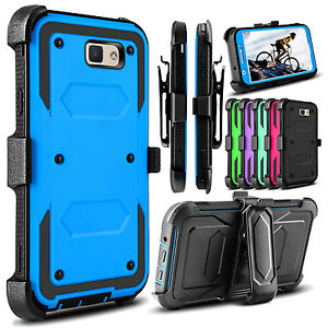 For-Samsung-Galaxy-J7-Sky-Pro-J7-Prime-Hybrid-Holster-Belt-Clip-Armor-Case-Cover