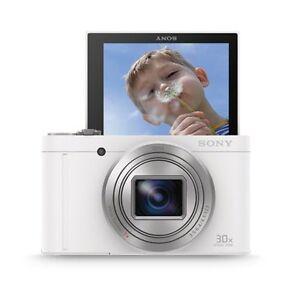 Sony-dscwx500-digital-compacto-alta-Zoom-Viaje-Camara-Con-180-Degrees-ORIENTABLE