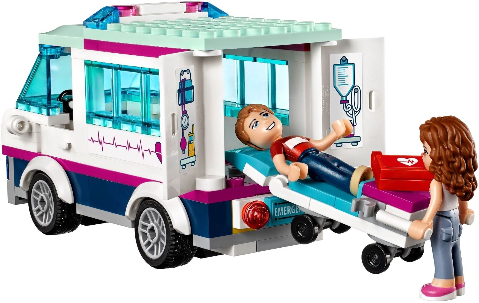 LEGO ® Friends Friends Friends 41318 Heartlake hôpital Nouveau neuf dans sa boîte _ Heartlake Hospital new Boîte d'origine jamais ouverte a96cbe