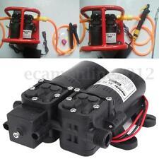 Membranpumpe Druckwasserpumpe Dual Hochdruck 12V 105PSI 5.5LPM für Sprinklers