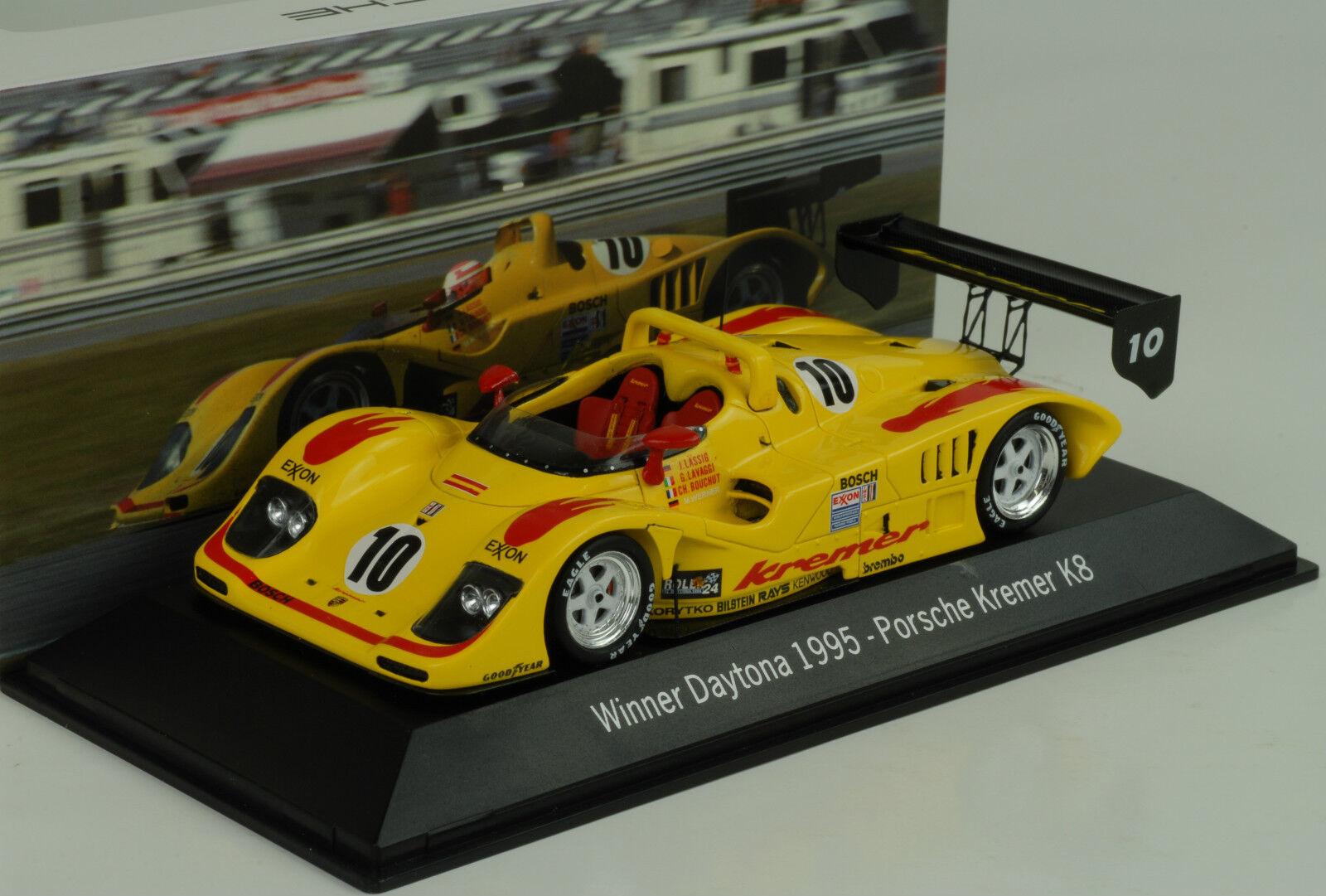Kremer porsche k8 Spyder winner 24h Daytona 1995  43 Map museo Spark