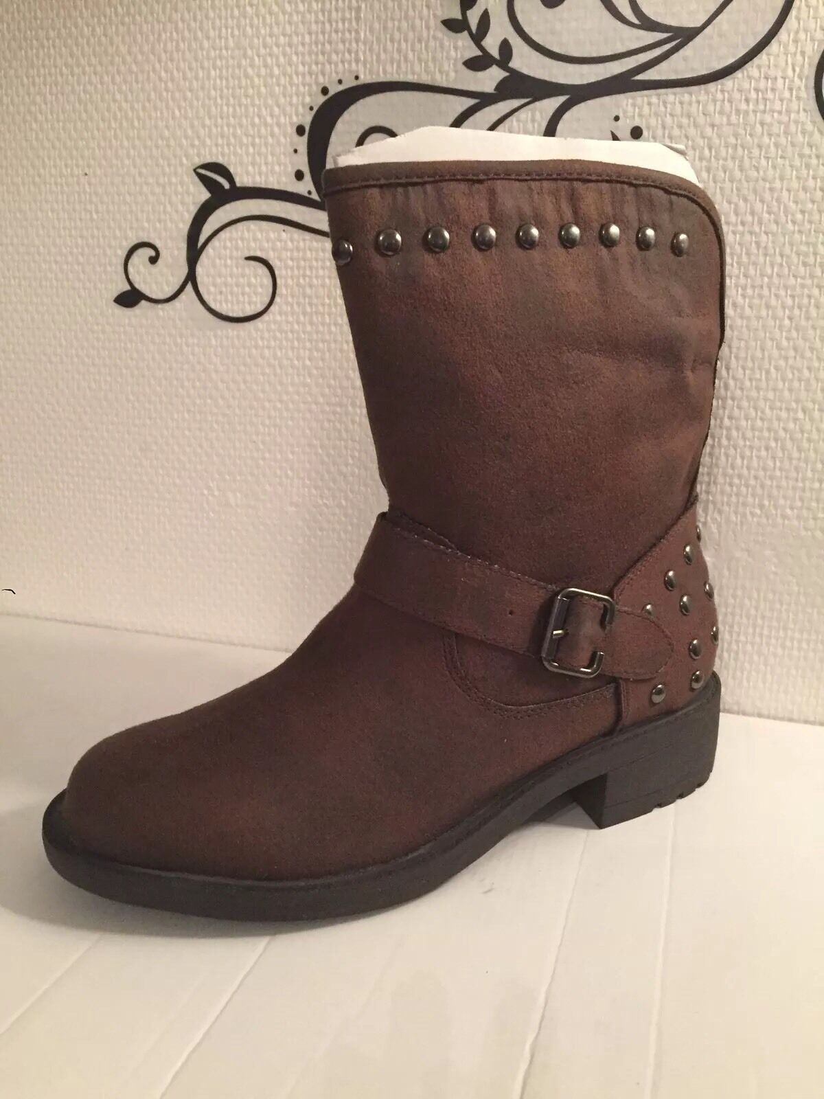 Gentleman/Lady SISLEY TAILLE 39 bottines neuves!!! durable First quality Don't worry when shopping
