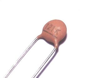 20x Condensateur c/éramique 1nF 50V