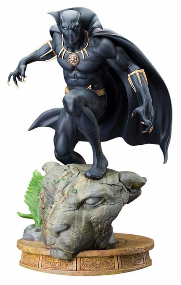 Panthère Noire Kotobukiya Fine Art Marvel  Comics t'challa Statue  NOUVEAU  RARE   expédition rapide à vous