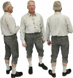 neue-sportliche-Kniebundlederhose-Lederhose