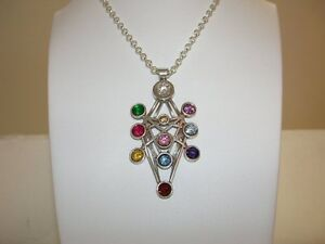 Authentic Tree Of Life Pendant Sterling Silver Kabbalah Necklace With Crystals Ebay We at holysands.com have a beautiful collection of kabbalah tree of life jewelry in both silver and gold, made in israel by leading israeli artists, where. details about authentic tree of life pendant sterling silver kabbalah necklace with crystals