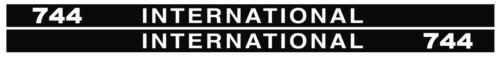 IHC Aufkleber international 744 Logo Emblem Sticker Label lang