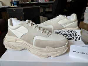 b464967d74f4 Balenciaga Triple S Trainer Speed White Ecru Runner EUR 46 506346 ...
