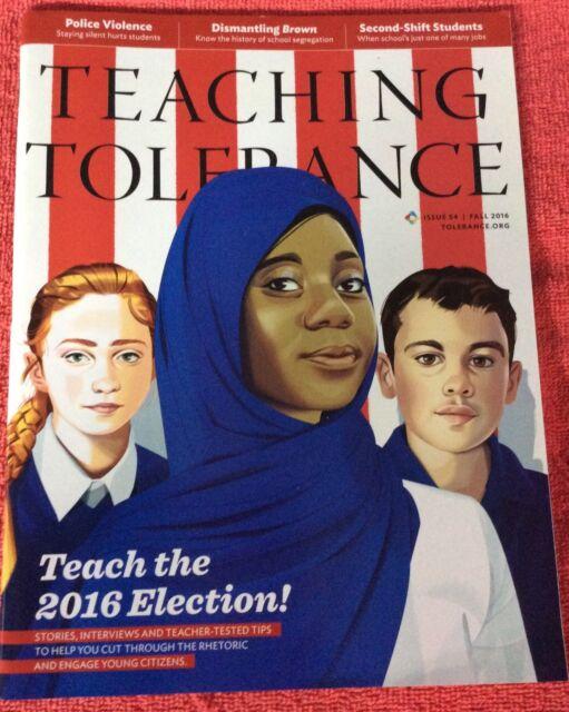 TEACHING TOLERANCE FALL 2016 ELECTION STORIES INTERVIEWS ...