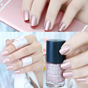 Metallic-Nail-Polish-Rose-Gold-Mirror-Effect-Varnish-9ml-Born-Pretty