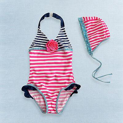 """NWT Vaenait Baby Toddler Kid Girl Tankini Bikini Swim suit /""""Shushu 2pcs/"""" 12M-5T"""