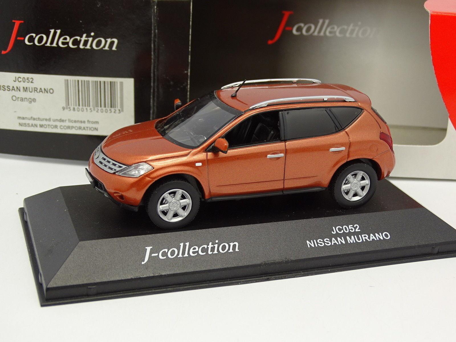 J Collection 1 43 - Nissan Murano orange Metal