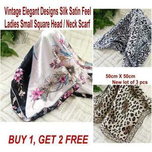 Lot-3-Pcs-New-Fashion-Elegant-Silk-Satin-Womens-Small-Square-Head-Neck-Scarf-117
