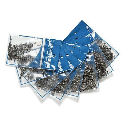 40x 10sets de pêche clips de plomb de carpe changement rapide émerillons