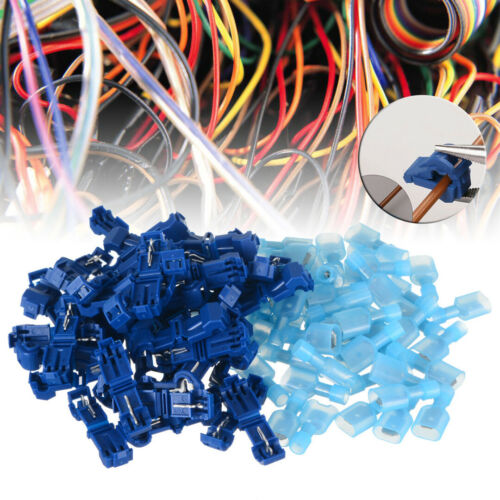10//100Stk Abzweigverbinder für Kabelschuhe 0,5-1,5mm² Stromdieb Klemmverbinder