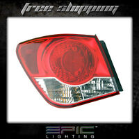 Fits 2011-12 Chevrolet Cruze Tail Light/lamp Driver Side Left Only