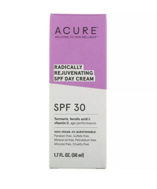 Acure Organics, Radically Rejuvenating Day Cream, SPF 30