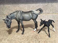 Breyer Custom Arabian Horses Susecion, Le Fire OOAK Traditional Mare,Foal
