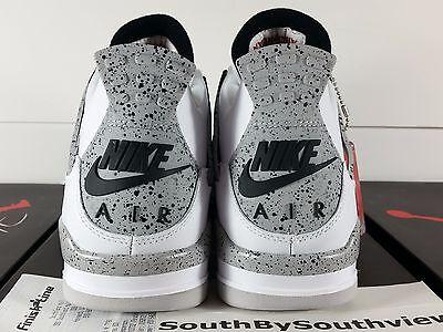 f9764ae4ffc8 Nike Air Jordan 4 White Cement 2016 With Receipt IV OG Retro Nike Air  840606-