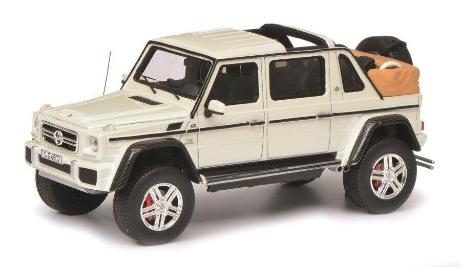 Schuco Pro.R Pro.R Pro.R 09005 - 1 43 Mercedes-Maybach G650 Landaulet, white - Neu 867b8f