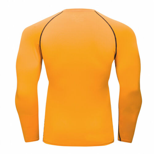 Men/'s Compression Tops Athletic Running Training Gym T-shirts Dri fit Base Layer