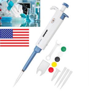 200-1000-l-Micro-Transfer-Pipette-Volume-Adjustable-Pipette-Pipet-Pipettor-US